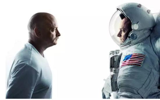 太空生活会使人类身体发生变化吗?图中是美国两位宇航员孪生兄弟。