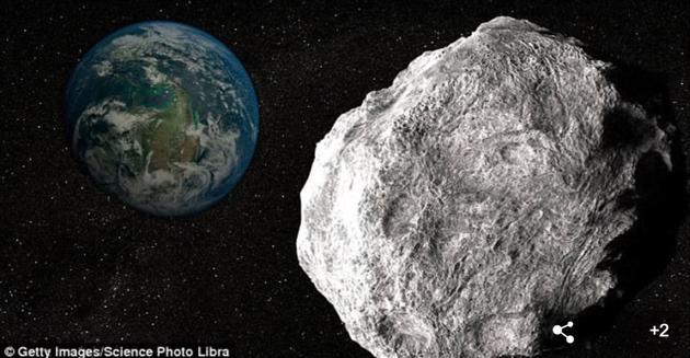 """第3200号小行星""""法厄同""""(3200 Phaethon)将在下个月圣诞节前后从地球附近掠过。观测显示这个小行星的直径大约5公里,大约是在6500万年前造成恐龙灭绝的那颗小行星大小的一半左右"""