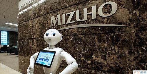 日本瑞穗银行的机器人顾问