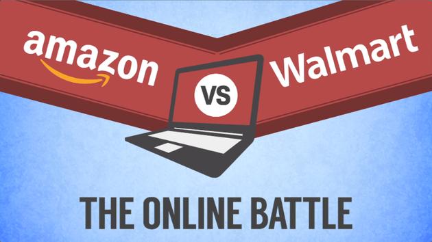 沃尔玛努力追赶亚马逊:商品在线价格相差无几