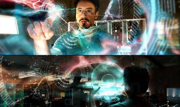 技术未到之前,很难有科幻电影中的交互体验