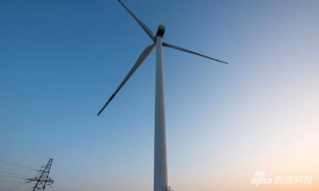 蘋果在中國投資的風力發電廠