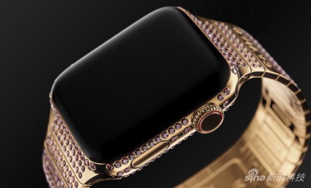 紅色的Caviar定製版Apple Watch