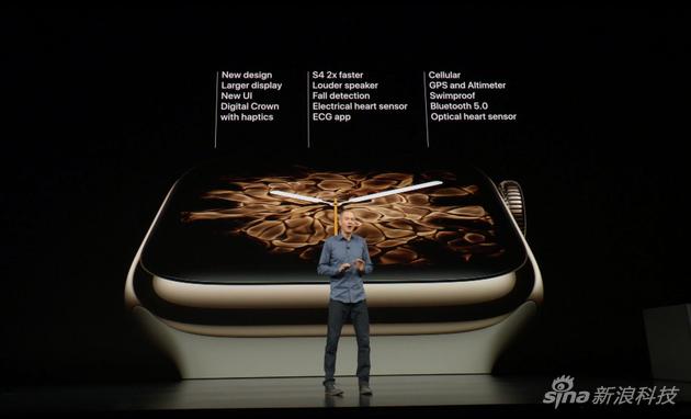Apple Watch series 4主要参数