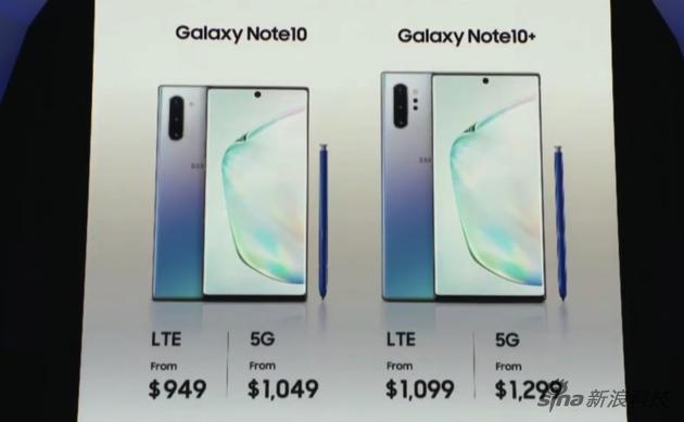 这次产品均有5G版