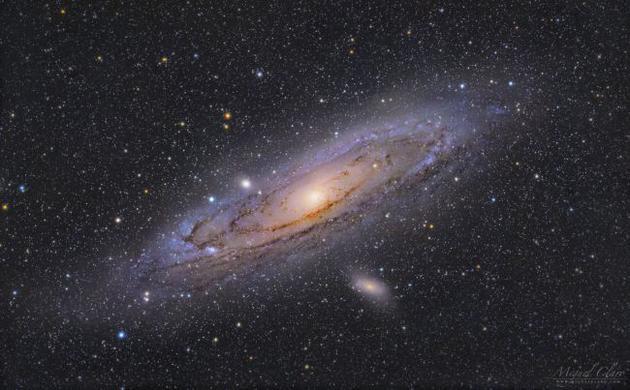 SETI搜索有可能探测到邻近M31仙女座星系是否存在任何先进地外文明。