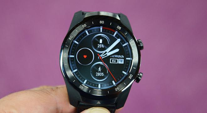 TicWatch Pro手表:双屏30天续航 没手机也能玩