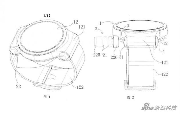 华为新专利:把一对儿无线耳机塞进智能手表里
