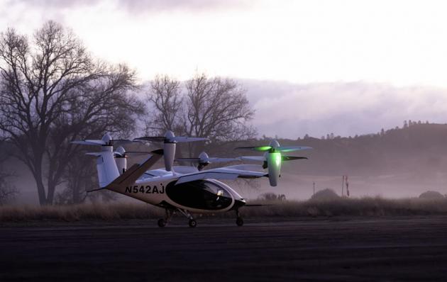美国NASA正在与Joby Aviation测试电动空中出租车
