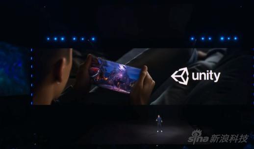 对游戏引擎Unity的支持