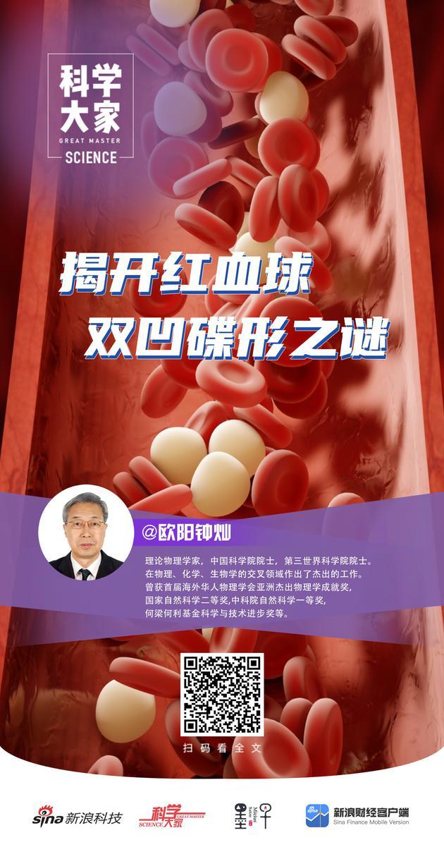 《科学大家》| 揭开红血球双凹碟形之谜