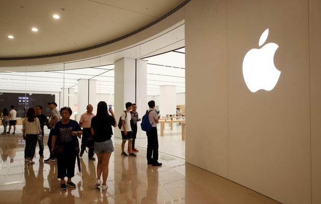 位于台北101的台湾首家苹果直营店Apple Store。