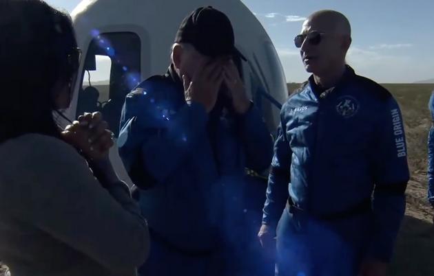 蓝色起源第二次载人太空飞行 打破人类最年长太空飞行纪录
