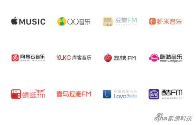 Sonos 支持15家中国流媒体