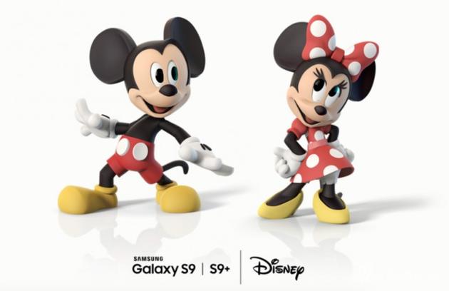 迪士尼旗下经典动画形象米奇和米妮