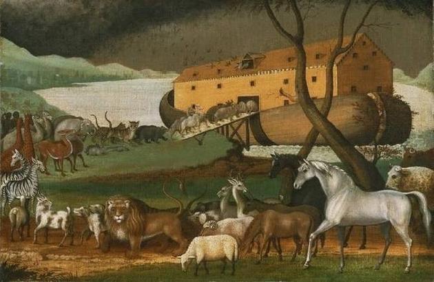 圣经中把动物带上方舟的究竟是谁?