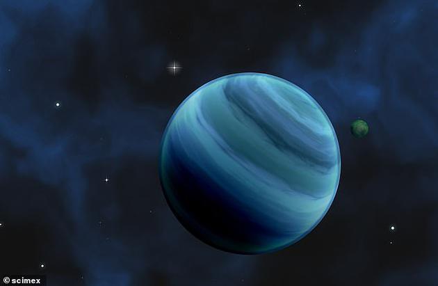 """寻找""""超级地球""""大突破:110光年外行星存在水蒸气系外行星太阳系"""
