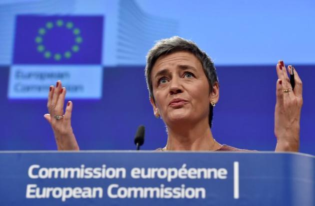 欧盟反垄断专员玛格丽特·维斯塔格