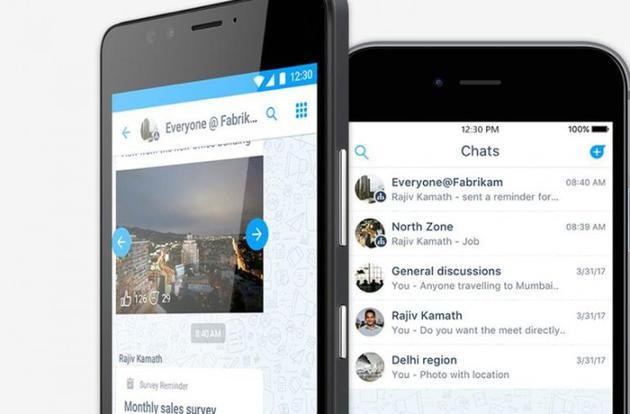 微软应用Kaizala在Android和iOS上线:类似WhatsApp