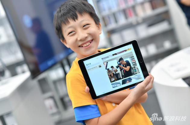 苹果夏令营:iPad不止是娱乐设备 还能发挥孩子创造力
