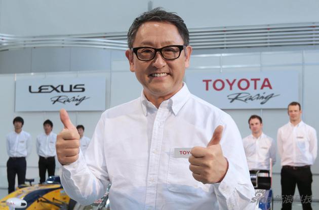 豐田章男是日本豐田汽車公司總裁