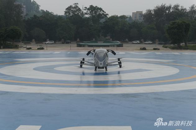 位于广州世界大观的试飞基地