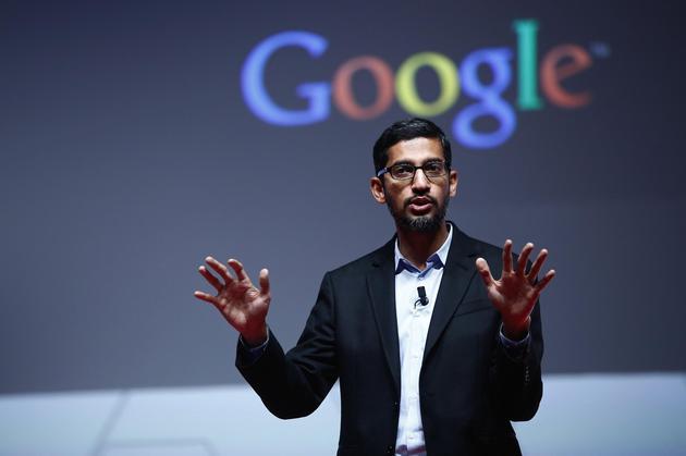 谷歌CEO桑德尔·皮查伊(Sundar Pichai)