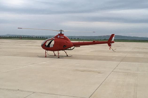 我国自主研发翔鹰-200大型无人机完成研制试飞任务