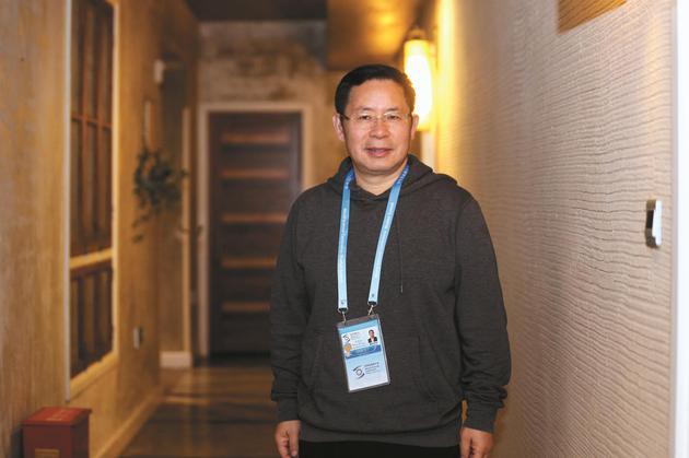 2018年11月6日,用友集團董事長兼CEO 王文京。新京報記者 王貴彬 攝