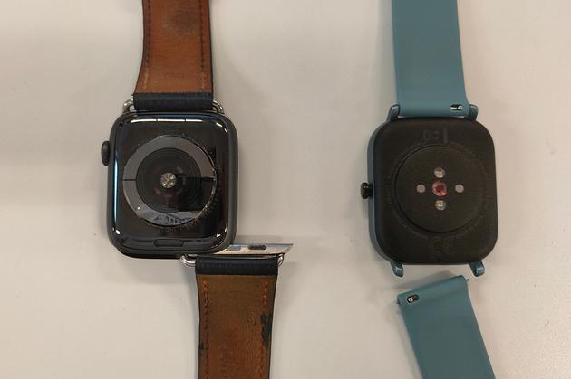 两款手表表带对比
