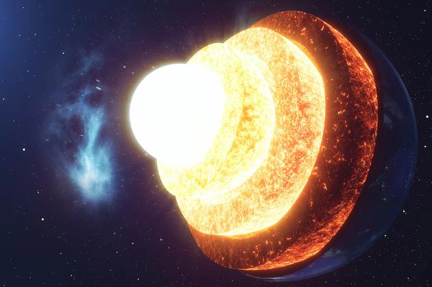 最新研究:地核物质泄漏至地幔已有25亿年时间地幔物质