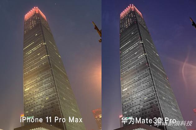 夜景模式拍照对比