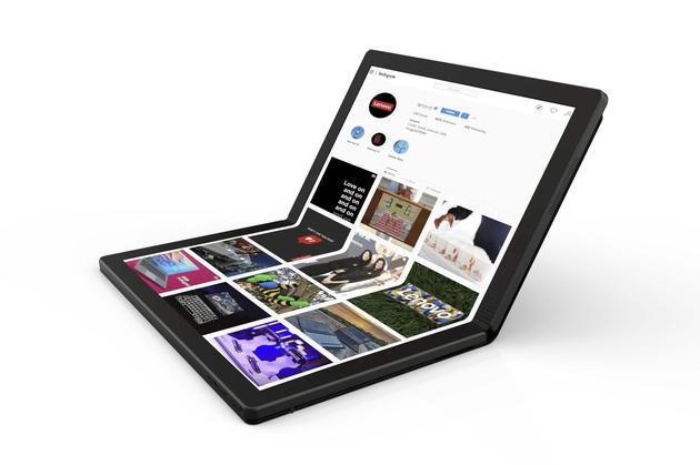 联想折叠屏PC将亮相CES 2020 带5G模块