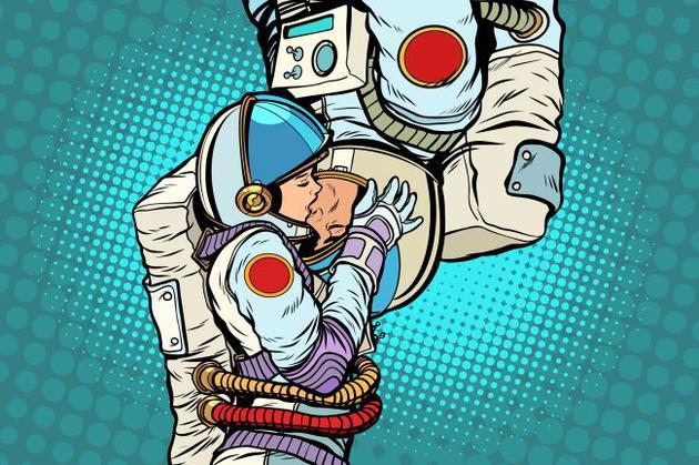尽管宇航员受过严格的训练,但他们仍然具有身为人类的本能需求
