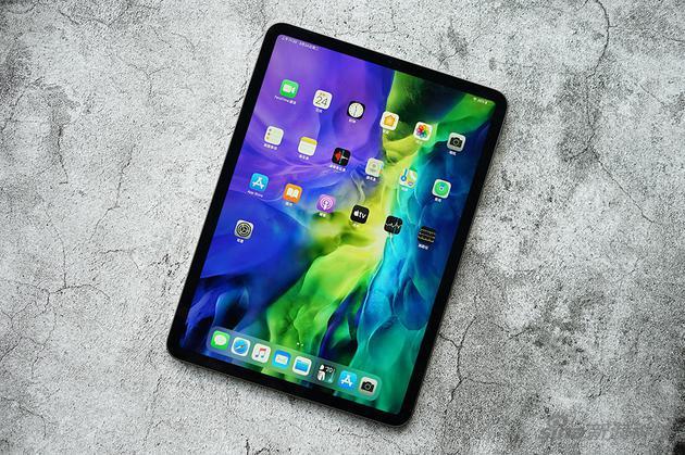 iPad Pro的正面,依旧是之前的ID设计