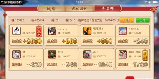 多人网上开赌场获利20万:每局赌注1毛输赢高达4千