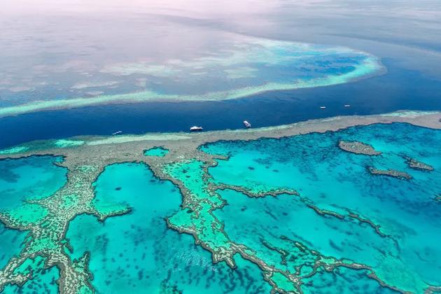澳大利亚的大堡礁