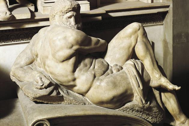 米开朗基罗的雕像出现污渍与变色,需要细菌来拯救