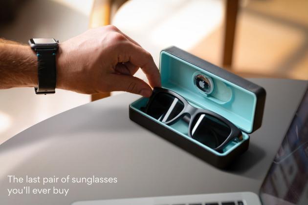 支持手机无级调节色调的Dusk智能太阳镜