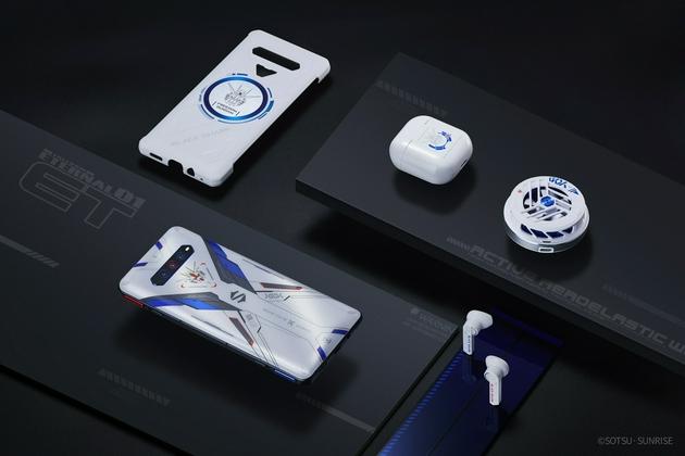 黑鲨4S系列正式发布:标配磁力升降肩键 还有自由高达联名套装