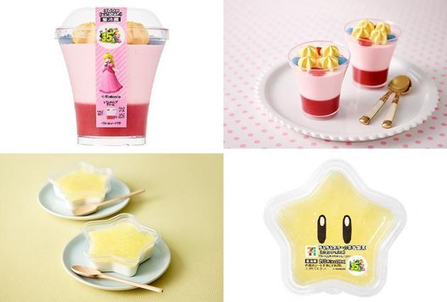 任天堂联手7-11在日本推出超级马里奥主题面包和甜点
