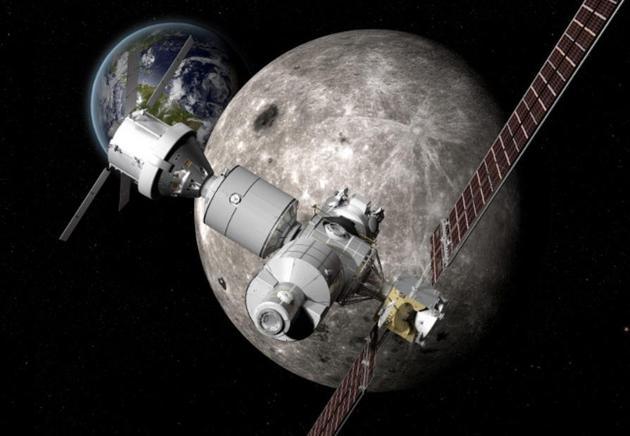 NASA考虑在月球附近建立小型空间站 作深处任务航点
