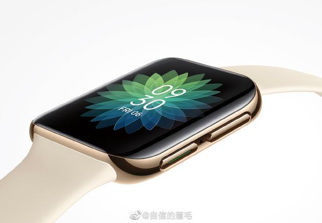 沈义人曝光OPPO智能手表渲染图:柔性屏+曲面设计