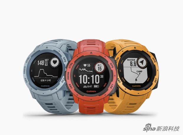 佳明Instinct智能手表配色