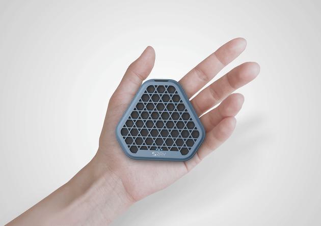 SRAY可能是最小的定向音箱(图片来自:catchflow官网)