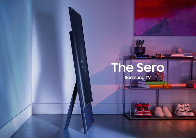 CES2020:三星新品横过来看视频竖起来是放大版手机