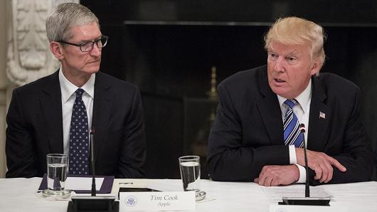 苹果CEO库克:特朗普处理中美贸易的做法不妥