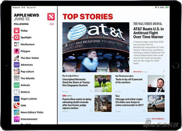 Apple News是苹果官方的新闻聚合App
