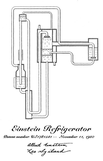 电冰箱原理设计图