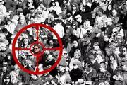 在张学友演唱会的6万观众中,AI锁定了一名逃犯